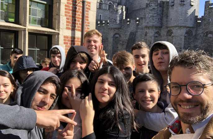 De derdes verkennen middeleeuws Gent