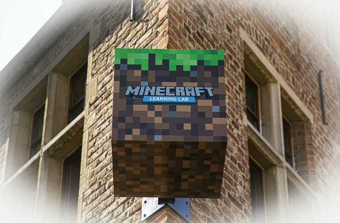 Ons Minecraft Learning Lab kwam in de media!