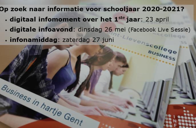 Op zoek naar informatie voor schooljaar 2020-2021?