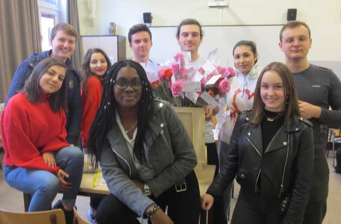 Valentijnsdag op school