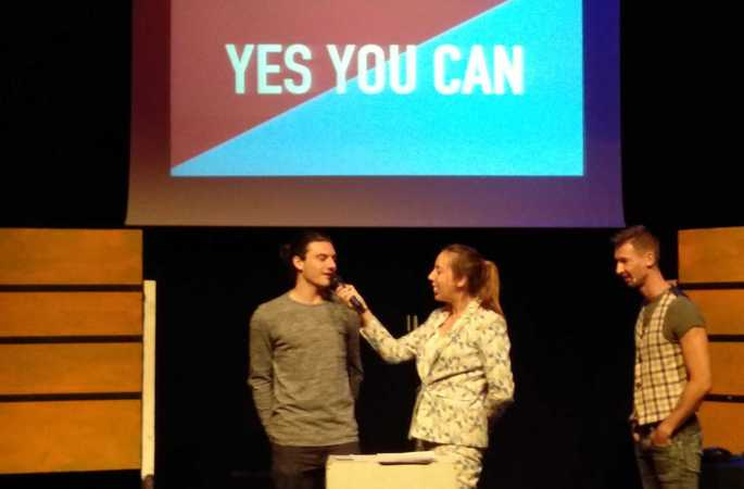 'Yes you can', een educatieve voorstelling over ondernemen