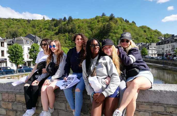 De vierdes trekken voor drie dagen naar Bouillon