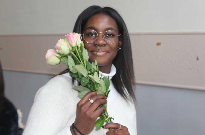 De leerlingenraad viert Sint-Valentijn