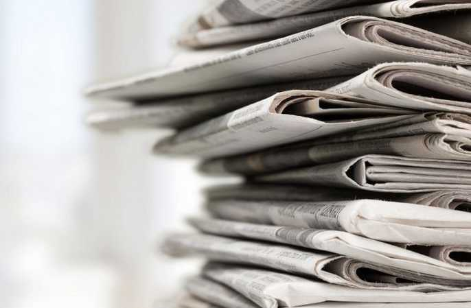 Oud-leerling in de krant