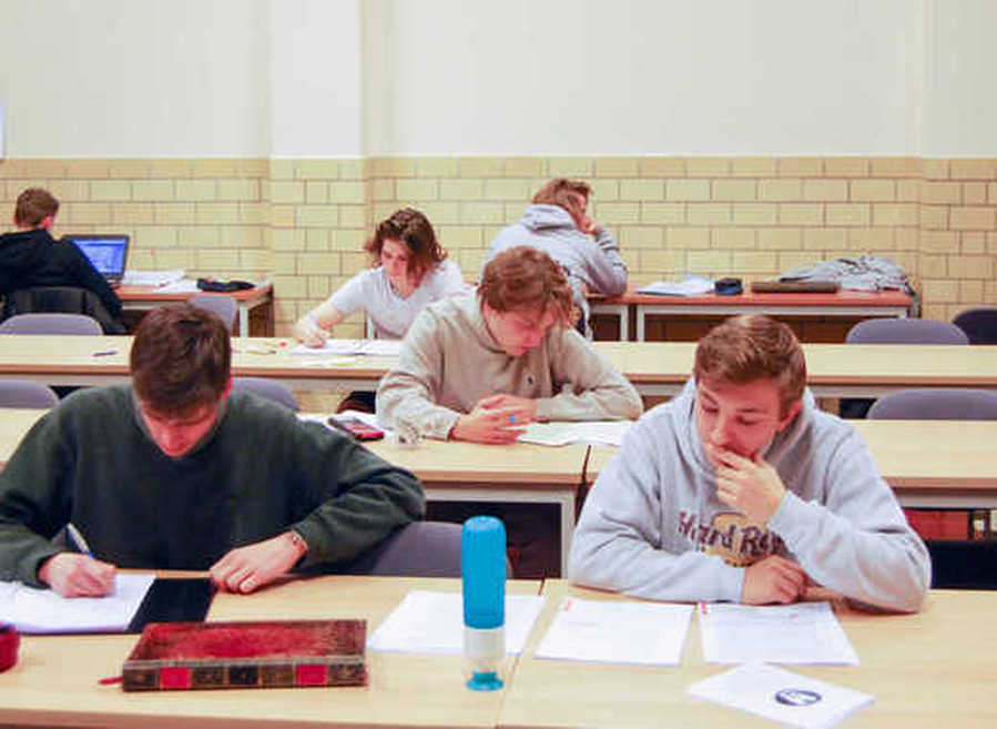 Studiezaal Internaat Mariakerke